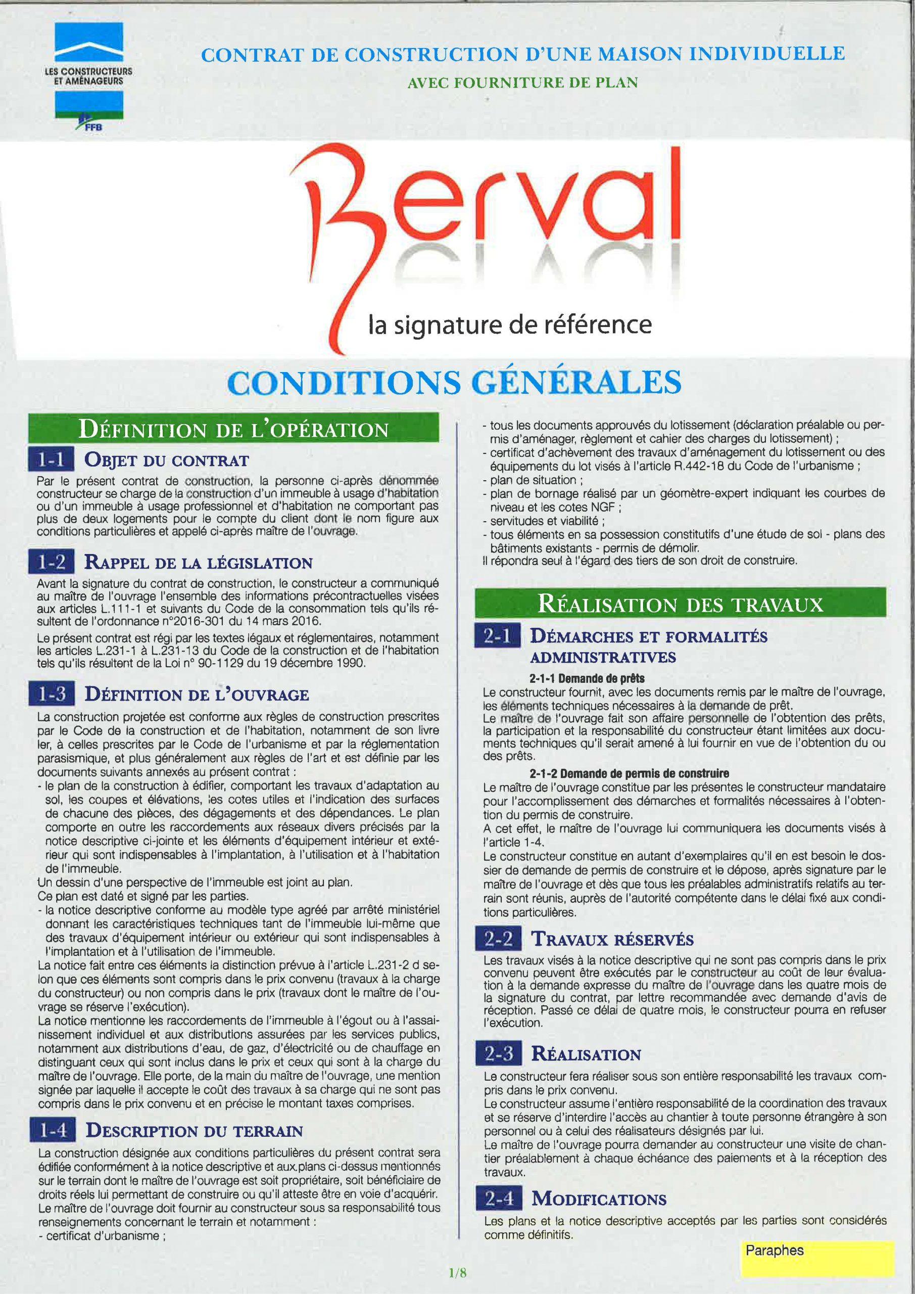 Maison Des Travaux Avis contrat de construction de maison individuelle (ccmi