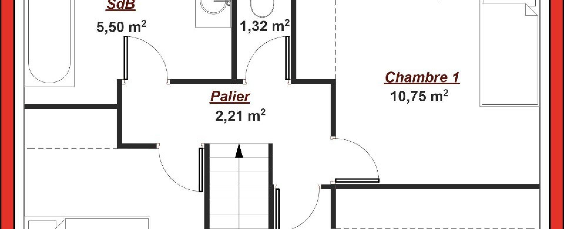 Maison neuve à Saint Hilarion (78125)