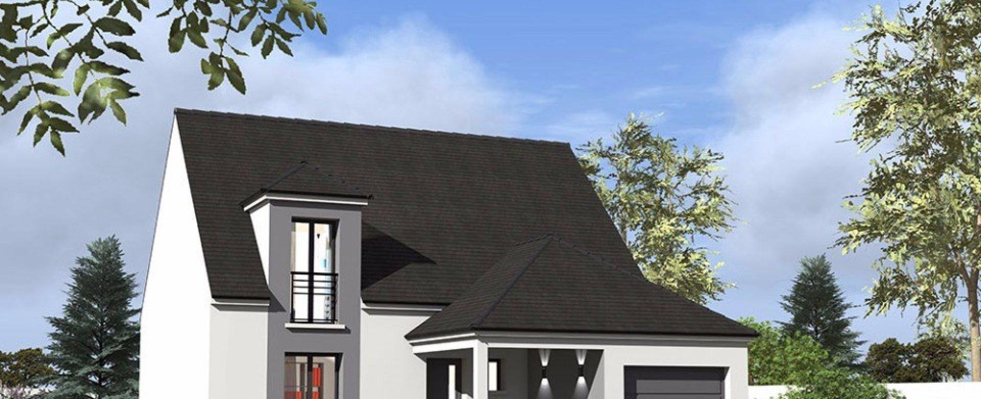 Maison neuve à Neauphle-le-Vieux (78640)