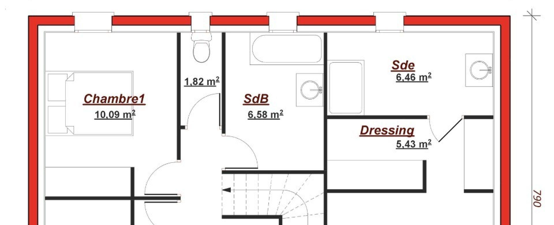 Maison neuve à Jouars Pontchartrain (78760)
