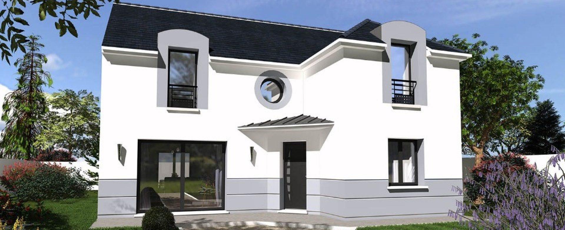 Maison neuve à Saint Arnoult en Yvelines (78730)