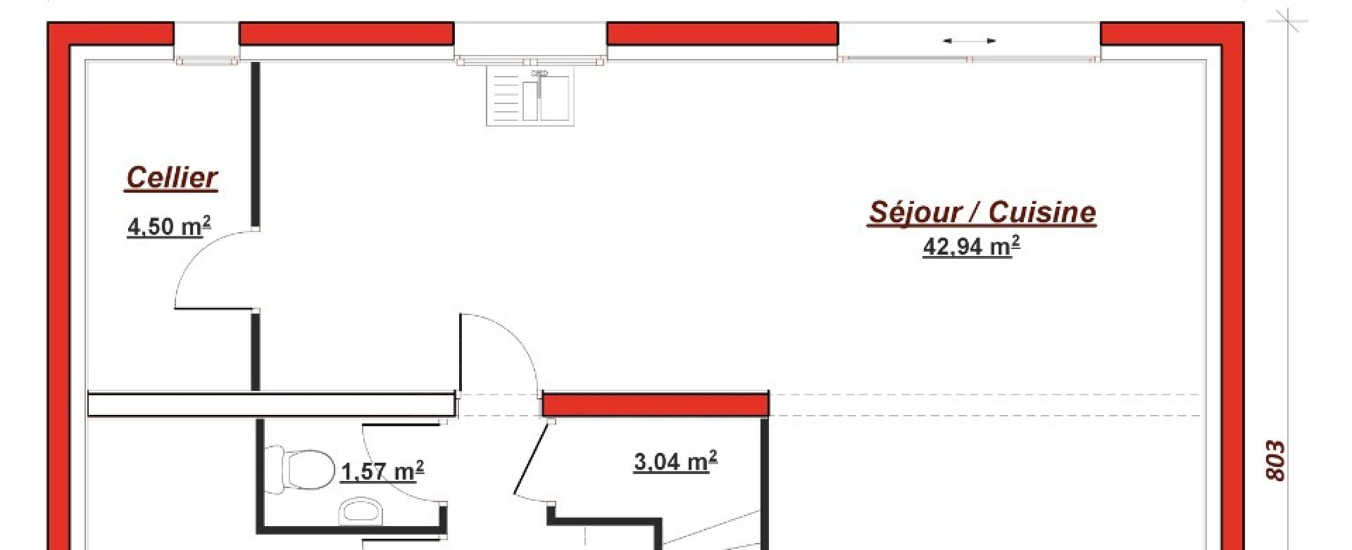 Maison neuve à Villiers-Saint-Fréderic (78640)