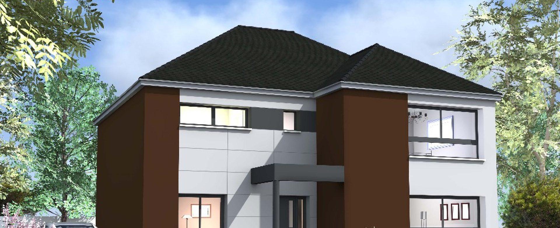 Maison neuve à Saint-Cyr-la-Rivière (91690)