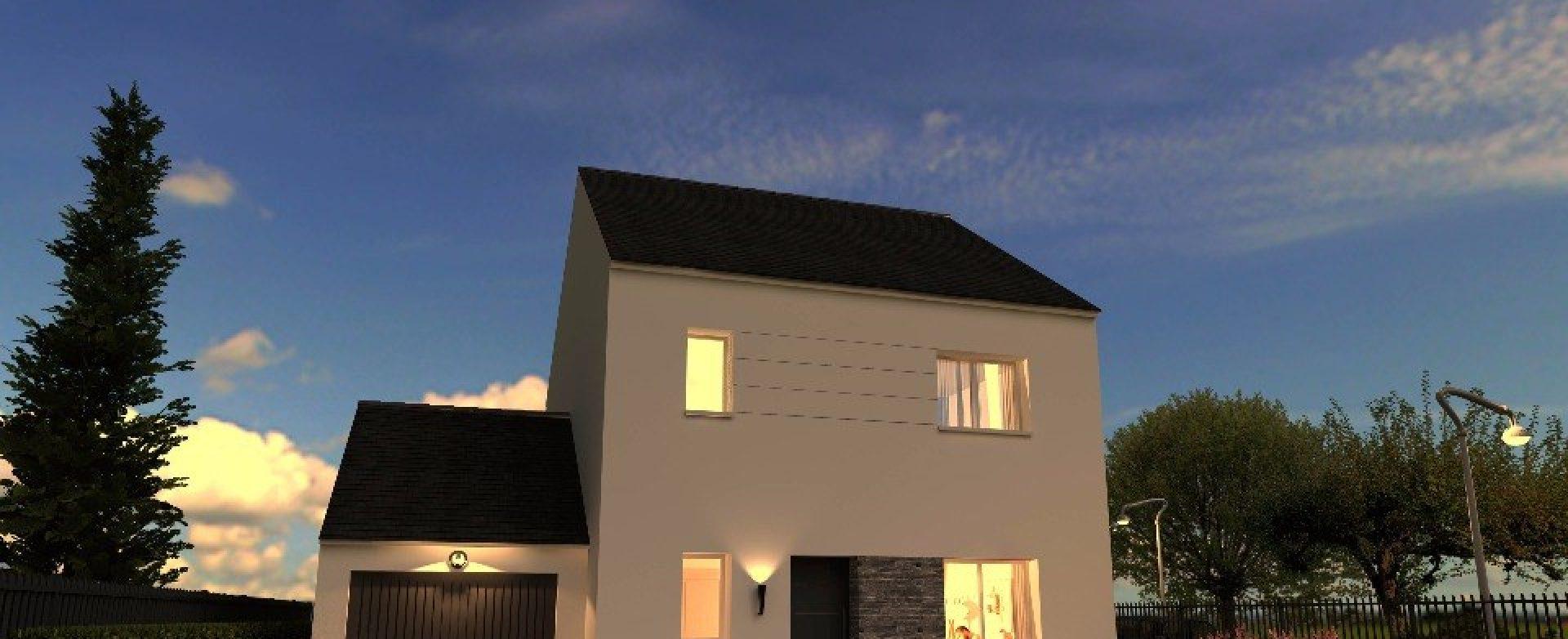 Maison neuve à Marolles-en-Brie (94440)