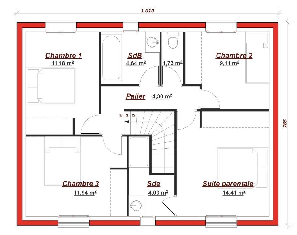 Maison à construire à Gretz Armainvilliers (77220)