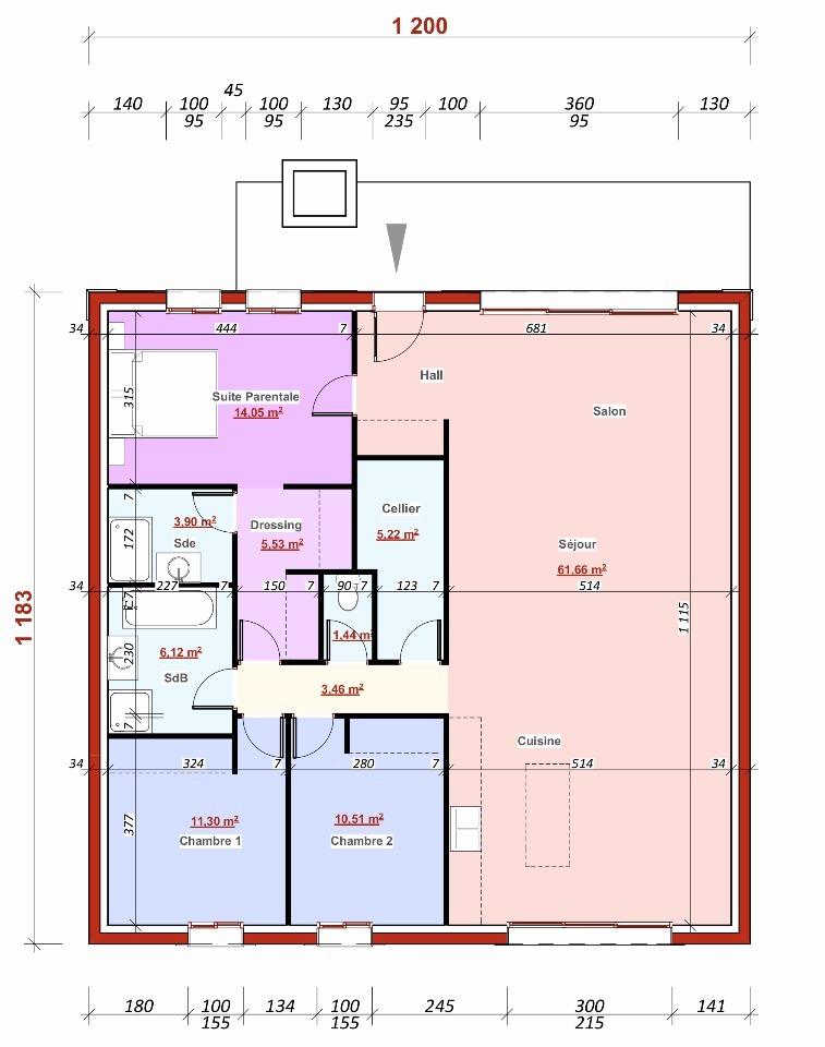 Maison neuve à Piscop (95350)