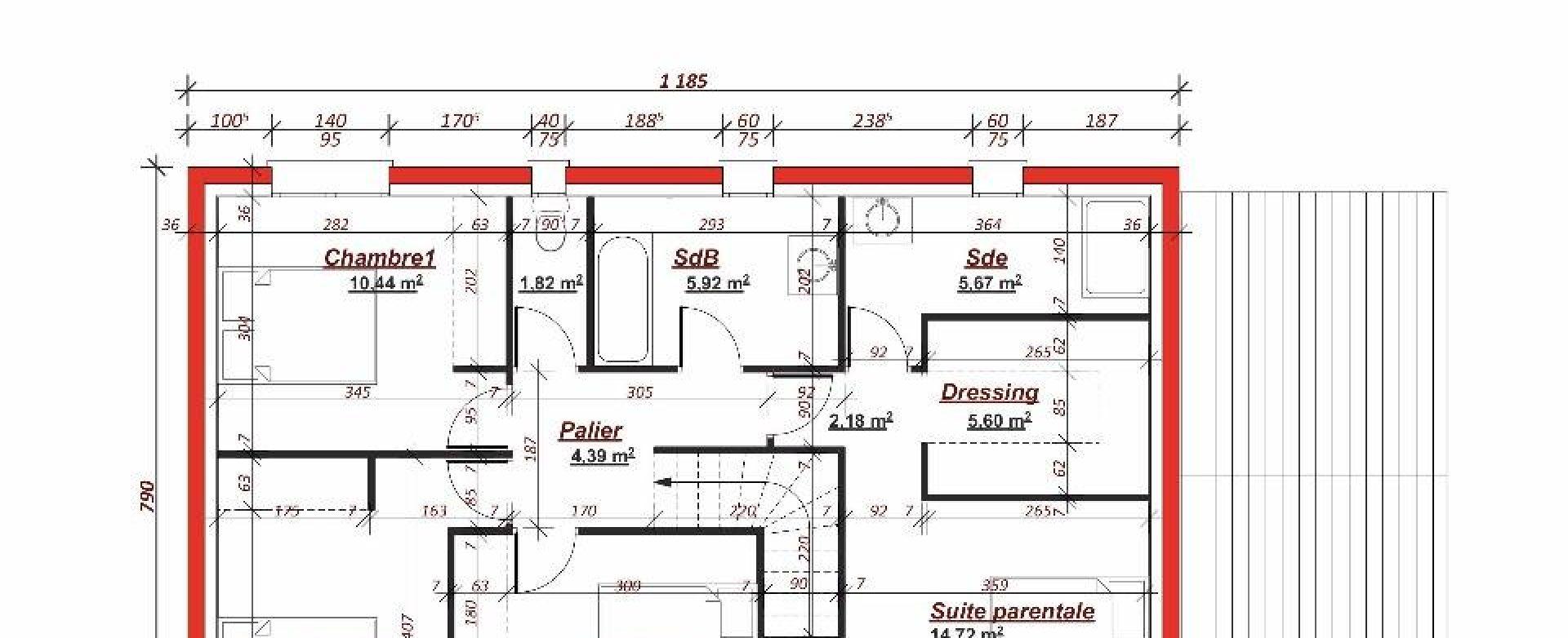 Maison neuve à Vaucresson (92420)
