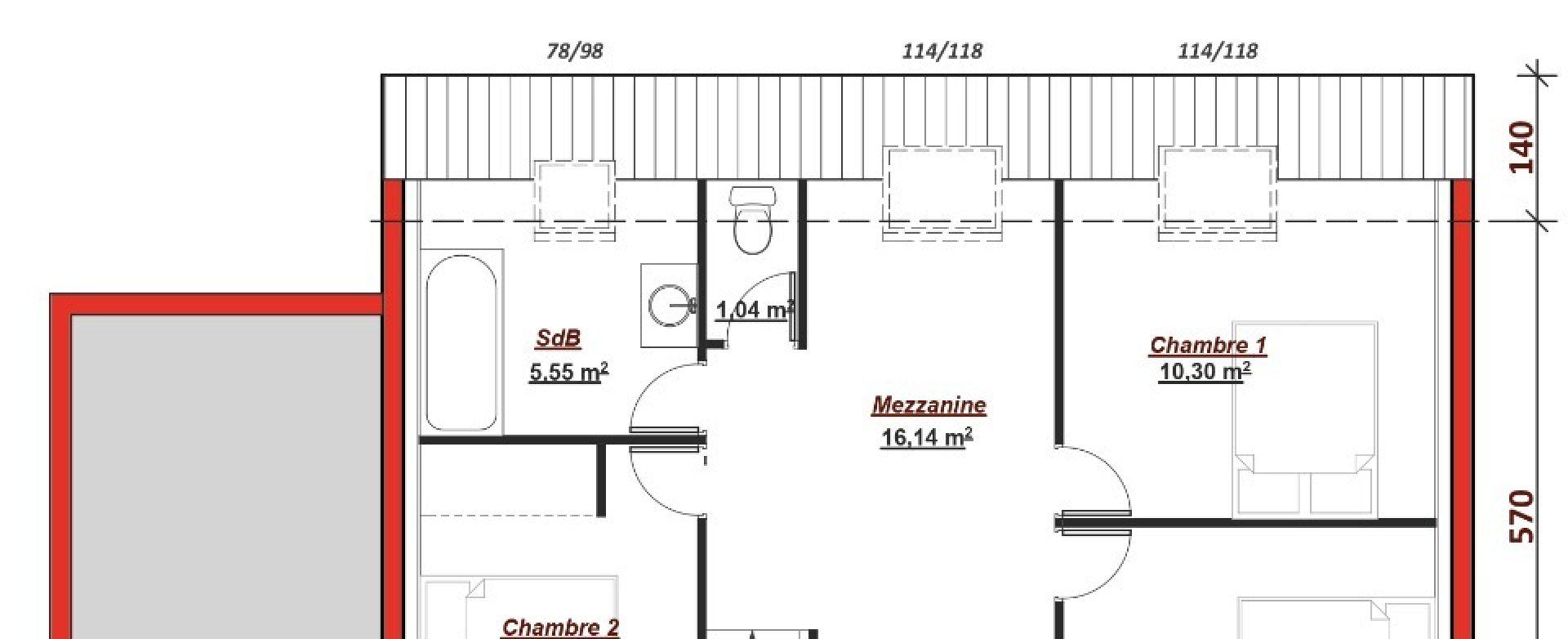 Maison neuve à Bièvres (91570)