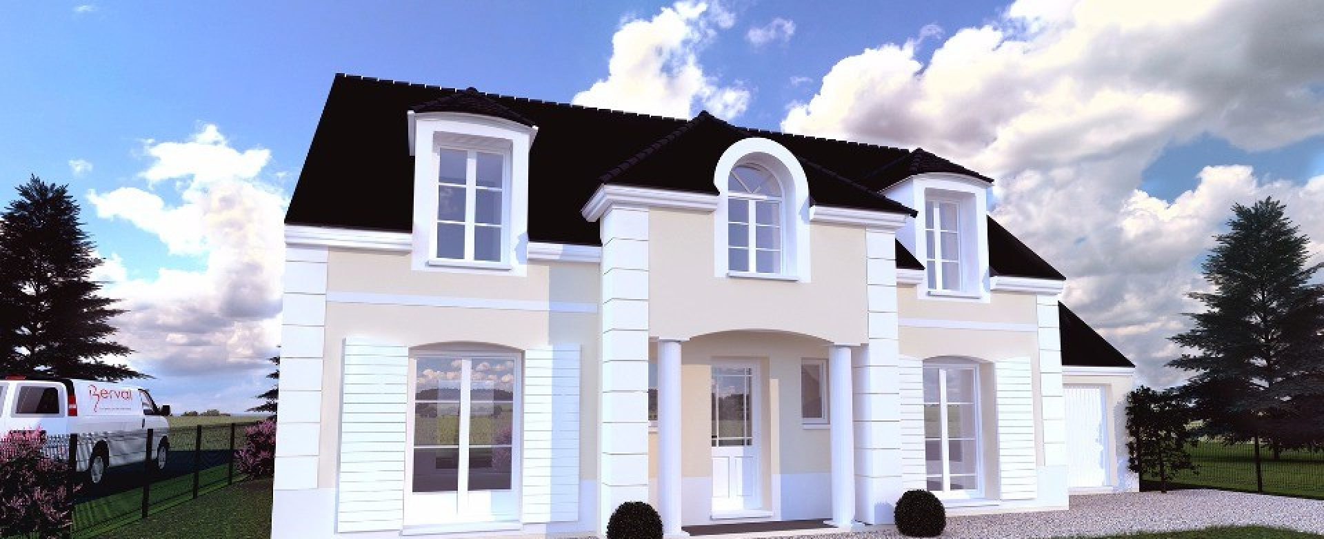 Maison neuve à Médan (78670)