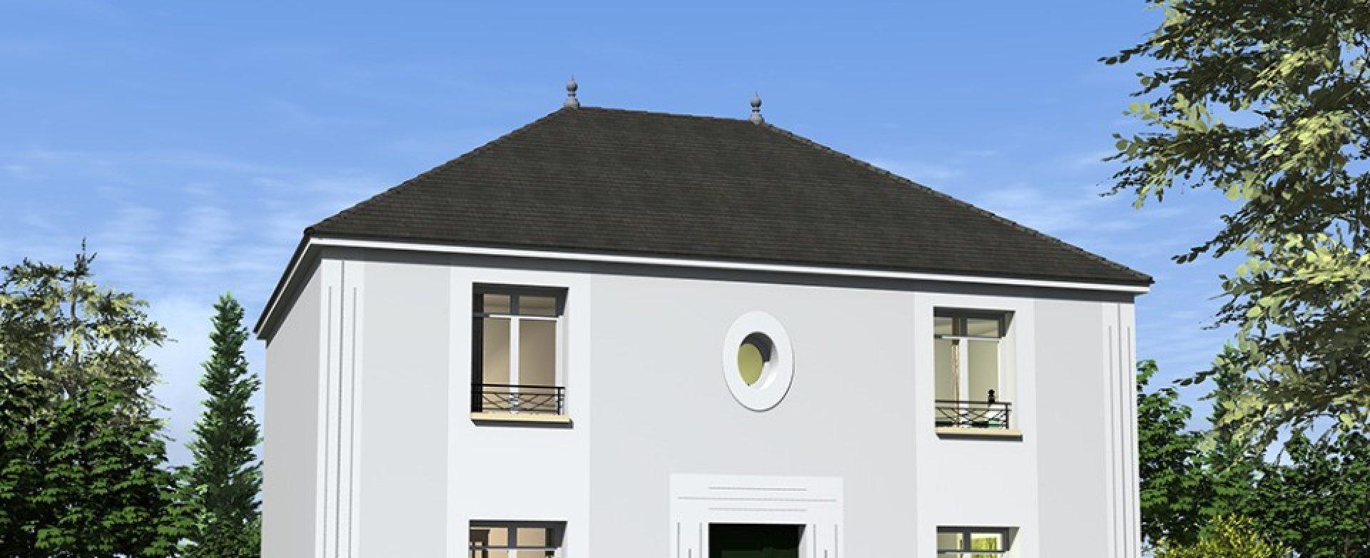 Maison neuve à Chapet (78130)