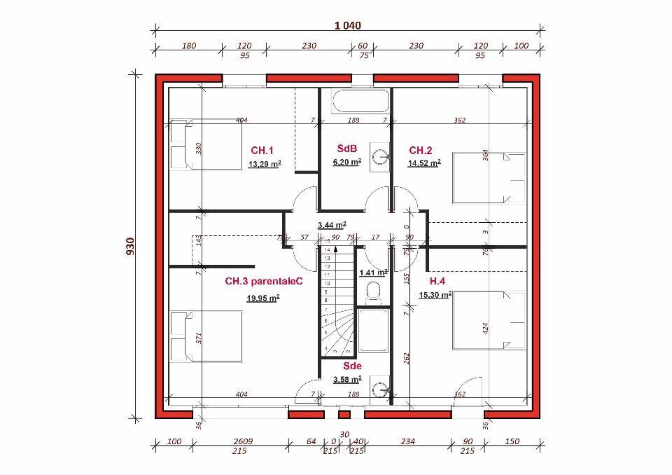 Maison neuve à Auffargis (78610)