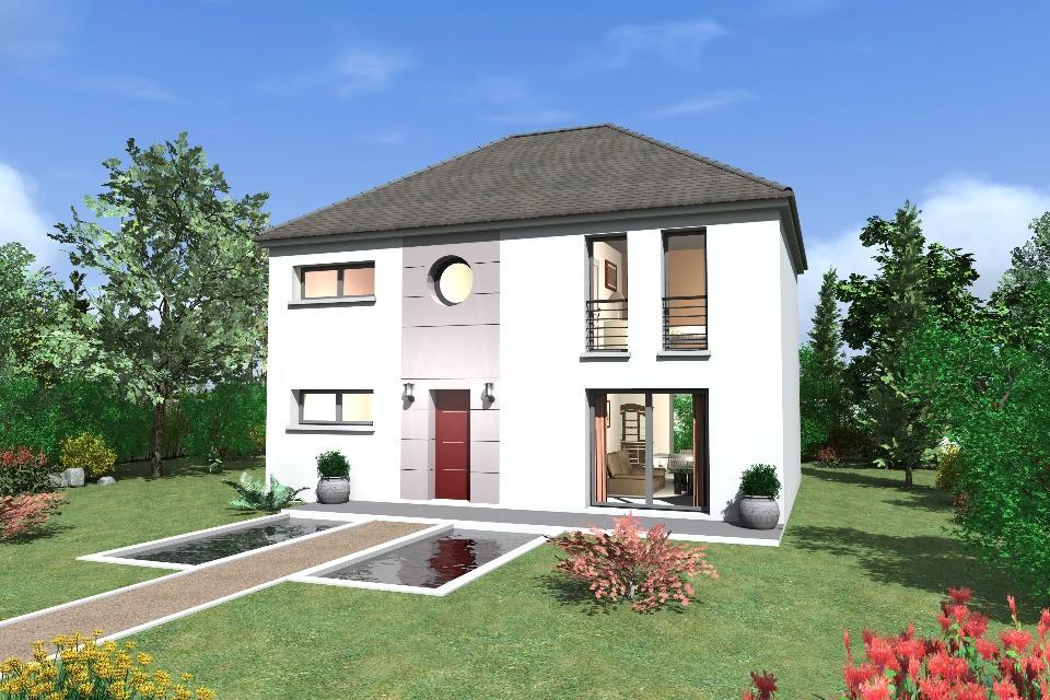 Maison neuve à Saint Léger en Yvelines (78610)