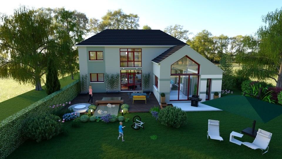 Maison neuve à Thiverval Grignon (78850)