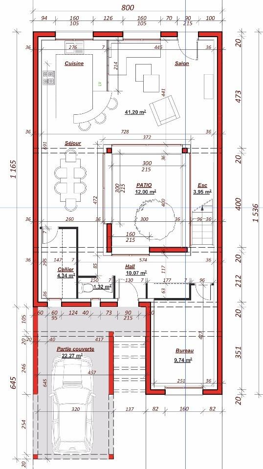 Maison à construire à Eaubonne (95600)