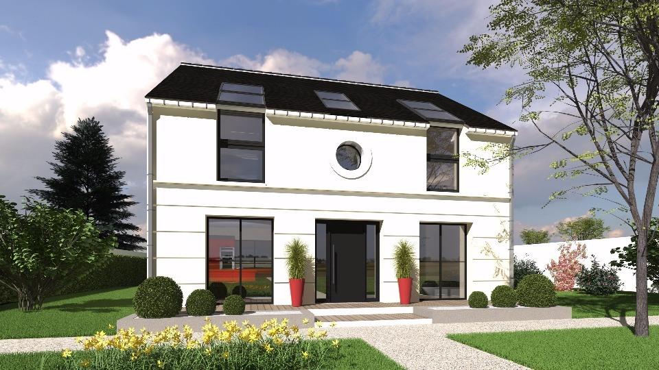 Maison neuve à La Queue-lez-Yvelines (78940)