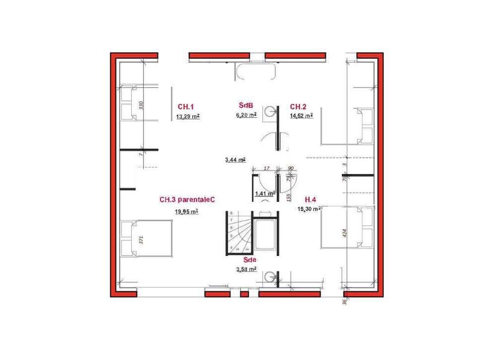 Maison neuve à Maurepas (78310)