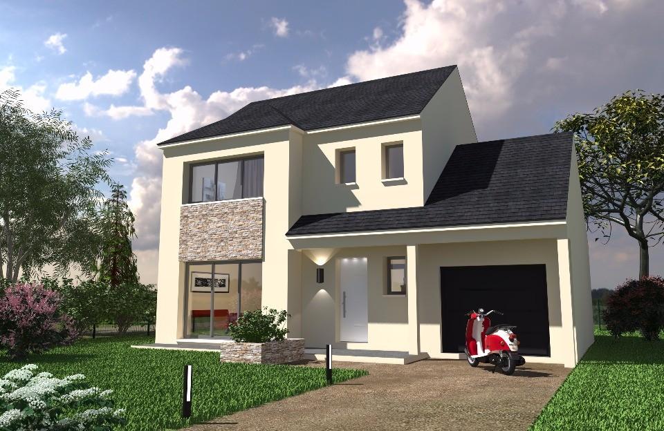 Maison neuve à Houdan (78550)