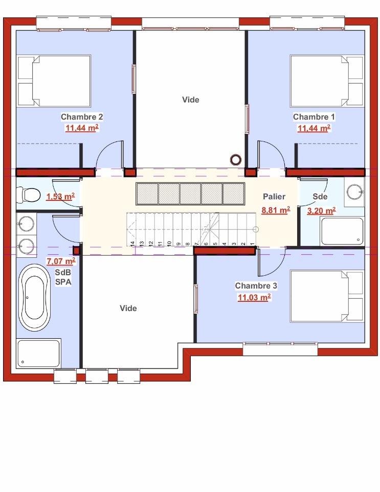 Maison neuve à Montmorency (95160)