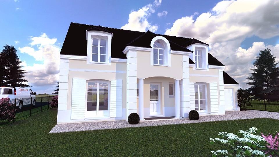 Maison neuve à Saint Rémy lès Chevreuse (78470)
