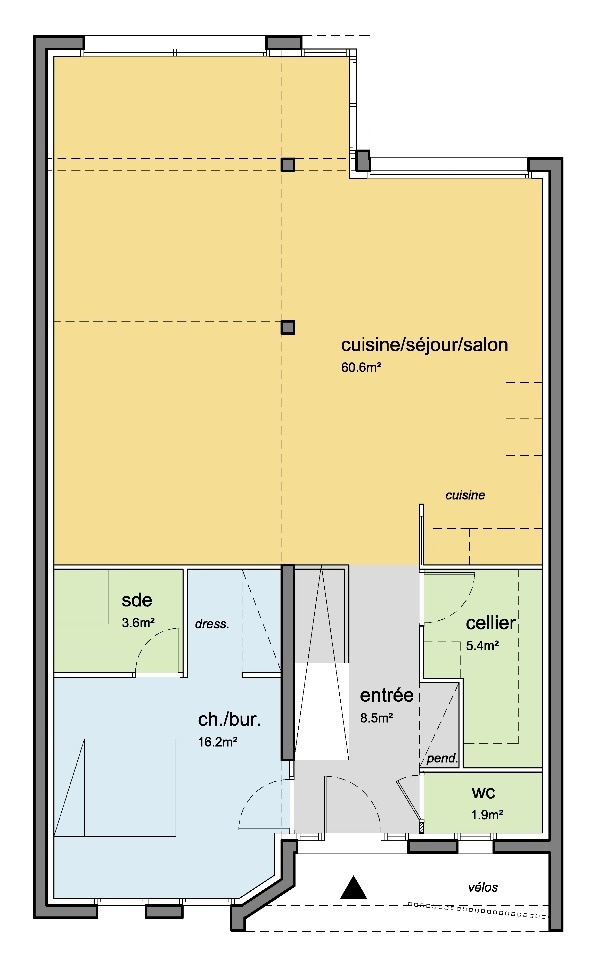 Maison à construire à Le Plessis-Bouchard (95130)