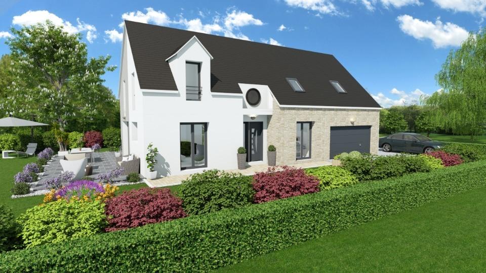 Maison neuve à Crespières (78121)