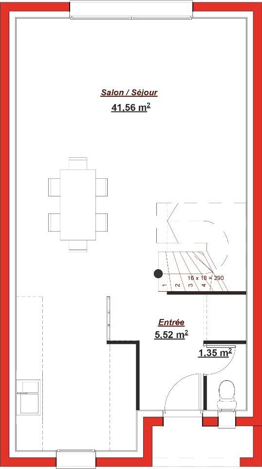Maison à construire à Saint-Thibault-des-Vignes (77400)