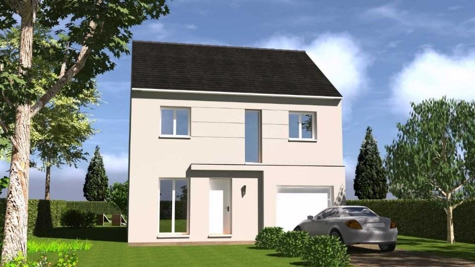 Maison neuve à Vieille-Église-en-Yvelines (78125)