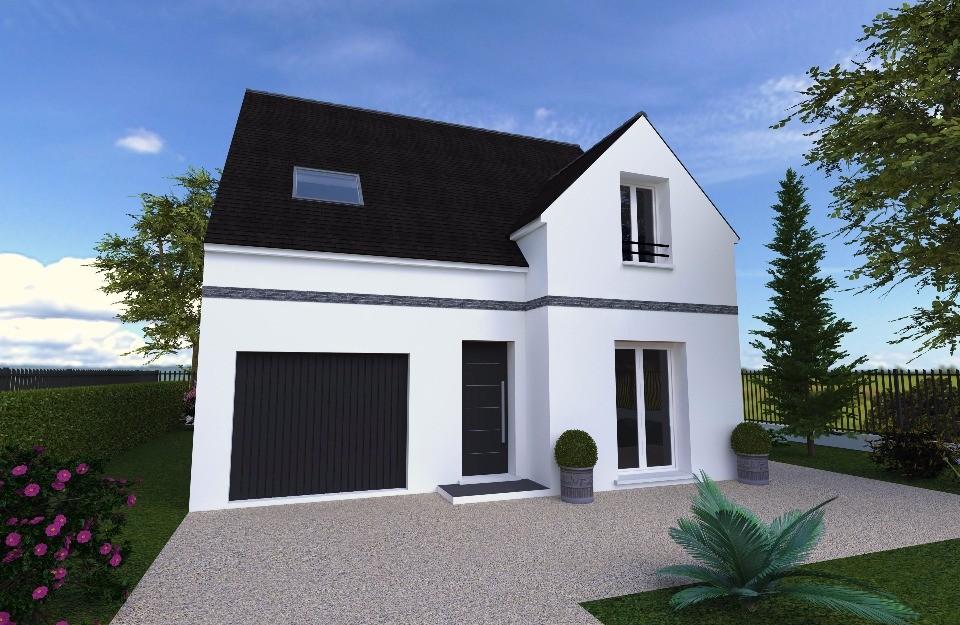 Maison neuve à Écrosnes (28320)