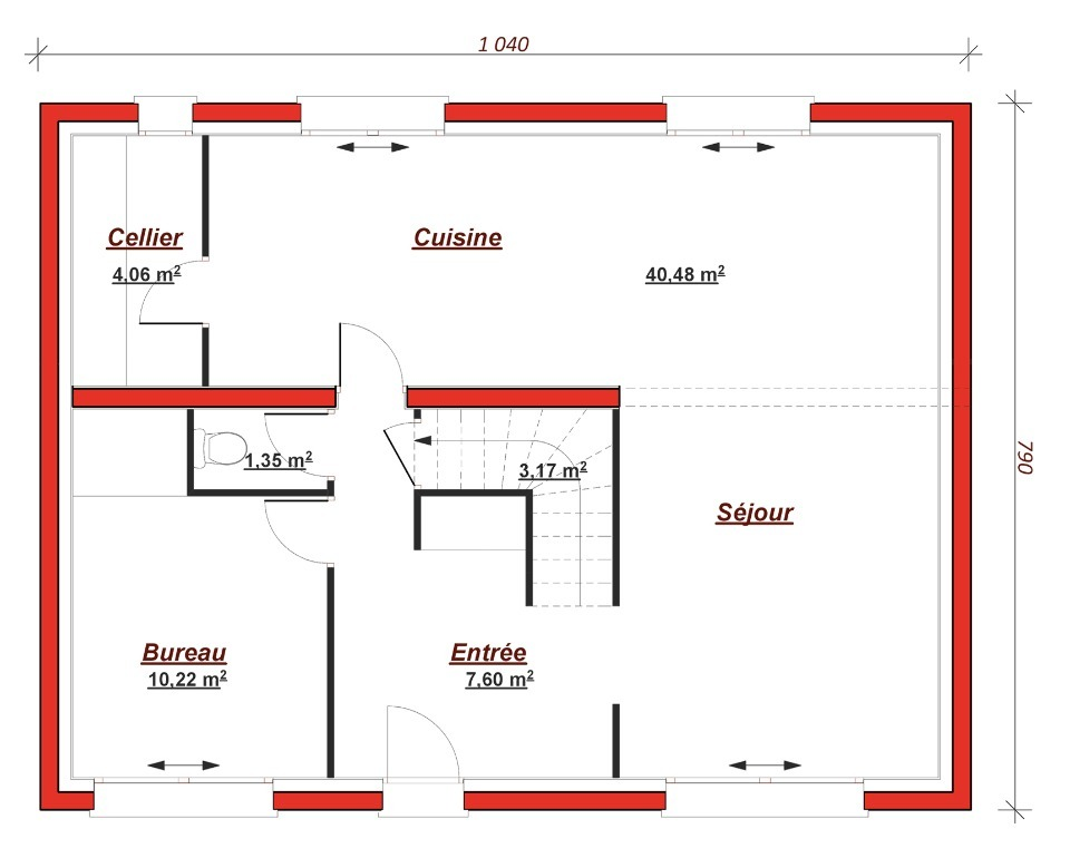 Maison à construire à Noisy-le-Grand (93160)