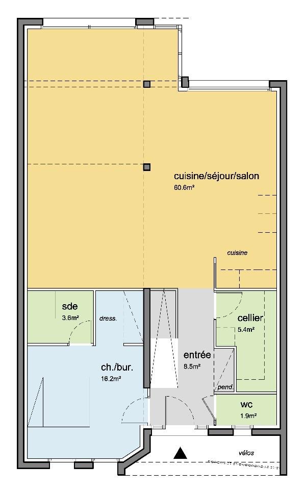 Maison à construire à Maisons-Laffitte (78600)