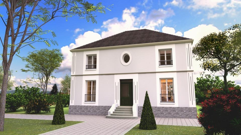 Maison neuve à Saint-Germain-en-Laye (78100)