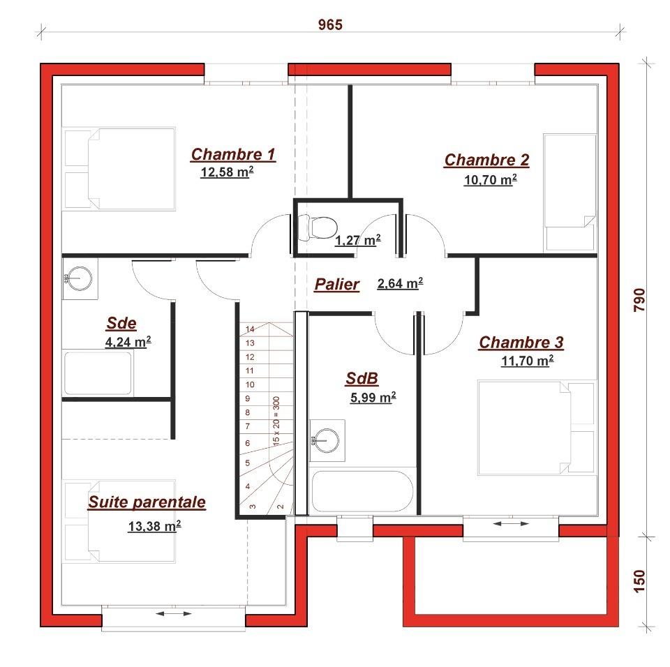 Maison neuve à Saint Chéron (91530)