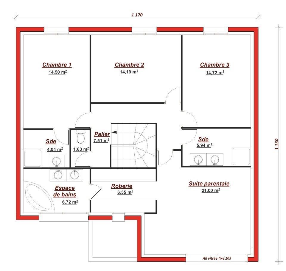 Maison neuve à Crosne (91560)