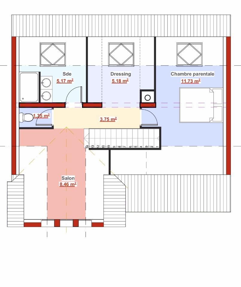 Maison neuve à Longjumeau (91160)