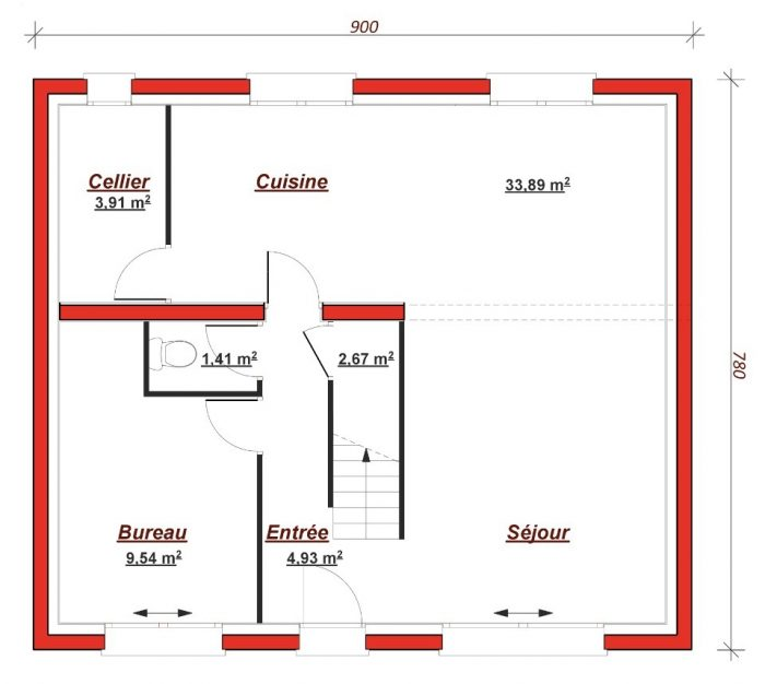 Maison neuve à Moret-sur-Loing (77250)