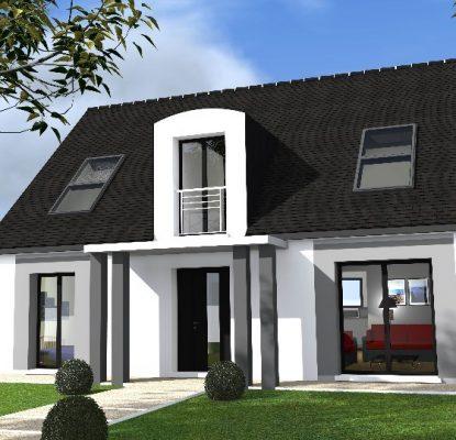 Maison neuve à Bazemont (78580)