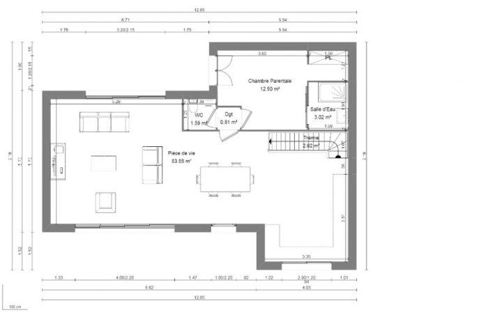 Maison neuve à Feucherolles (78810)