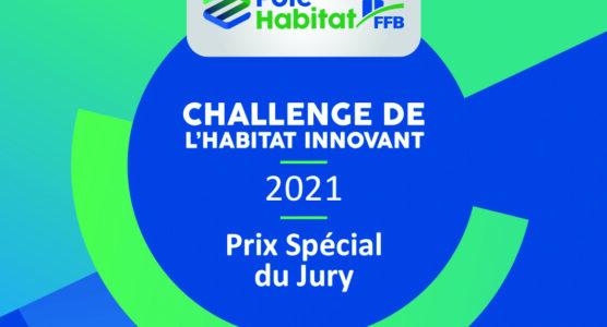 Berval reçoit le Prix spécial du jury au Challenge de l'habitat innovant 2021