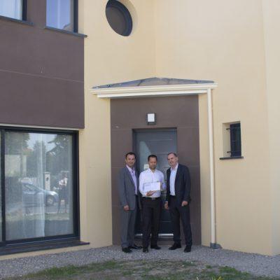 Première maison Labellisé NF Habitat HQE et E+C- en île de France