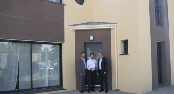 Berval réalise la première maison labellisée NF Habitat HQE et E+C- en IDF