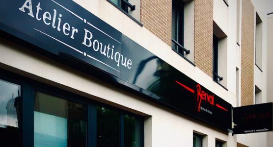 L'atelier-boutique, un nouveau concept d'agence