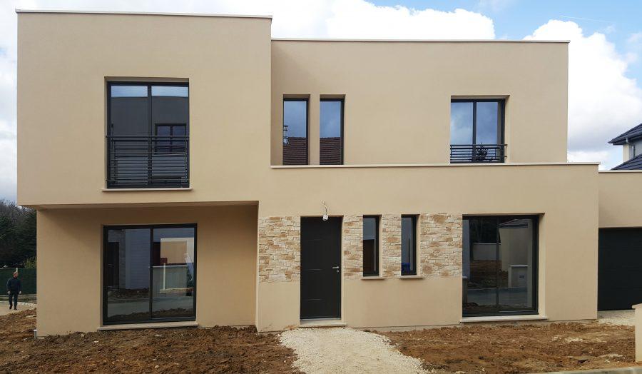Realisation D Une Maison Moderne Rambouillet 78 Reception Fevrier 2021 Maisons Berval