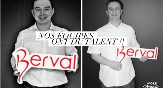 Cédric et Vincent, métreurs chez Maisons Berval.