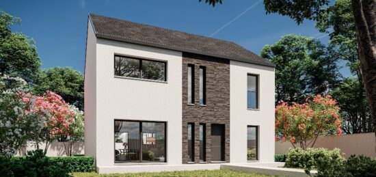 Plan de maison Surface terrain 142 m2 - 6 pièces - 3  chambres -  avec garage  8815-4970modele620171011fiHHc.jpeg