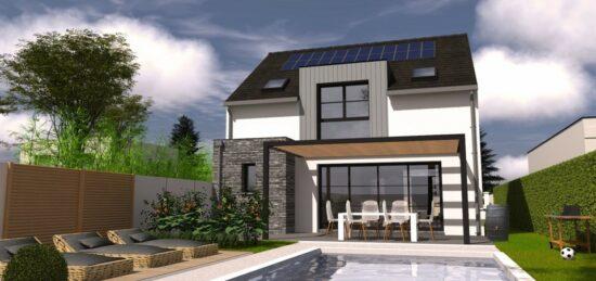 Plan de maison Surface terrain 102 m2 - 5 pièces - 4  chambres -  avec garage  31508-7172modele620210223TtAQx.jpeg