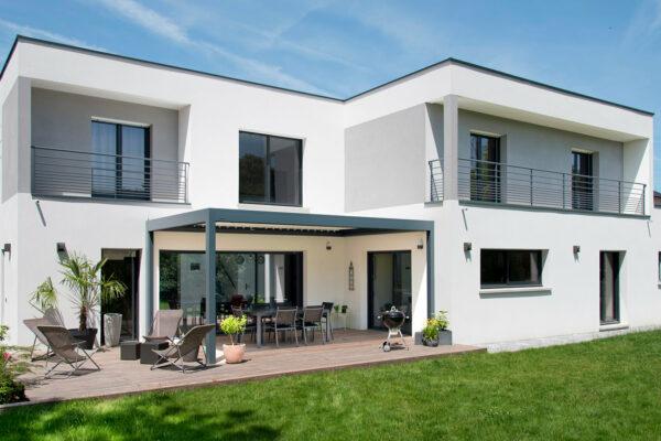 Construire maison en Ile de France - Maison contemporaine