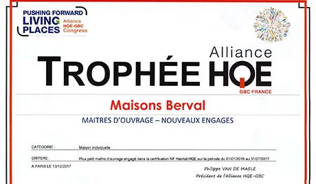 Trophée HQE